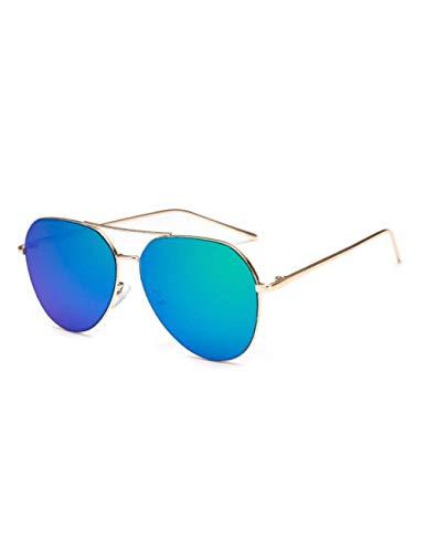 DPDH Sonnenbrillen Sonnenbrille Frauen Metall Designer Retro Sonnenbrille Rosa Aviation Sonnenbrille Weibliche Männer Mode BrillenC5 Green