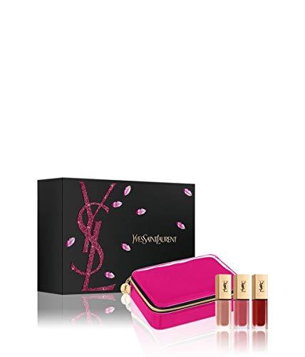 Yves Saint Laurent Tatouage Couture Lip Make-up Set 3 x 6 ml Liquid Lipstick + 1 x Pouch TRENDPARFUM - Yves Saint Laurent Cosmetics Liquid