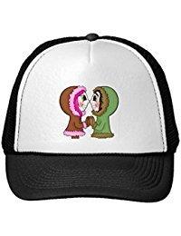 Funny Eskimo Kisses Trucker Hat