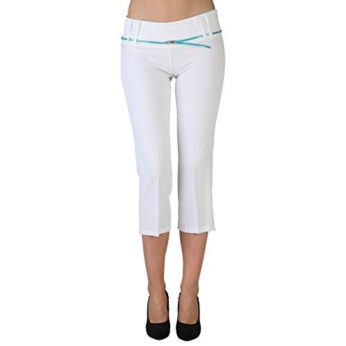 Extyn -  Pantaloni  - Donna Bianco bianco