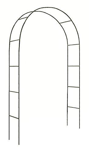Verdelook arco di trionfo dimensioni 140x38x240cm, arredo giardino decorazioni decorativo