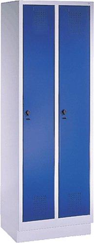 EVOLO Garderobenschrank48020-20-7035 H180xB61xT50 cm lichtgraublau