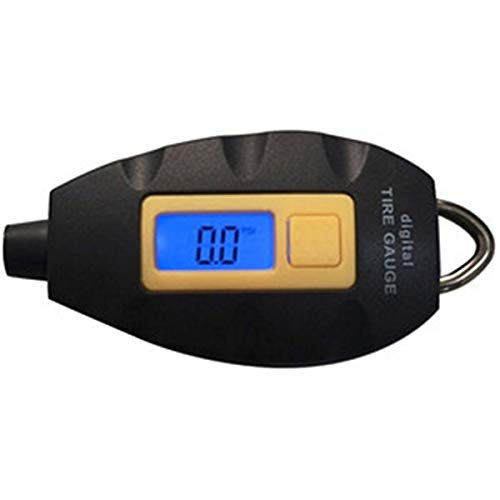 Strumento digitale portatile per misuratore di pressione pneumatici per pneumatici universale universale con display LCD per auto, camion, motocicli e biciclette simbolo