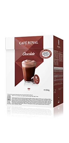 Café Royal Chocolate, 64 Nescafé Dolce Gusto kompatible Kapseln, 4er Pack (4 x 16 Kapseln)