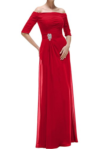 Ivydressing -  Vestito  - linea ad a - Donna Rot