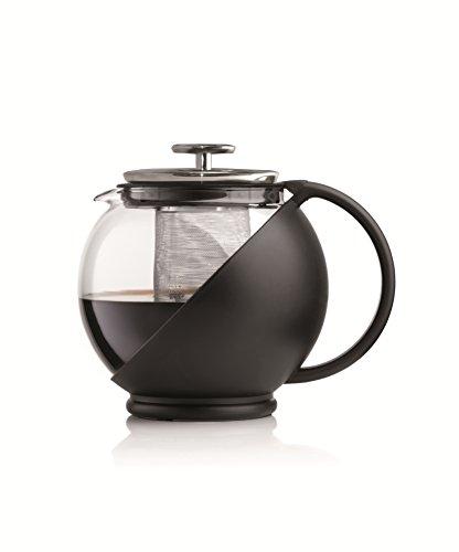 Bialetti - 0003320 - Théière pour 6 Tasses - Verre - Noir