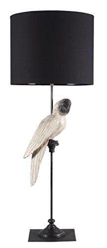 lampada-da-terra-pappagallo-bianco-con-paralume-nero-struttura-in-ferro-e-legno