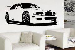 Preisvergleich Produktbild Wandtattoo Auto BMW M3