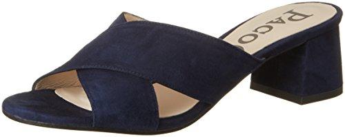 Paco Gil Damen P3221 Pantoletten Blau (ZAFIRO)