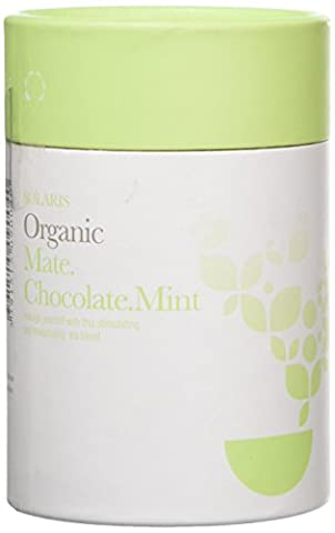 Solaris Tea Organic Loose Whole Leaf Mate Cacao Mint 50 g