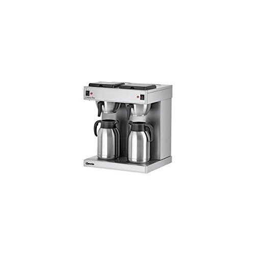 Bartscher 190049 Contessa Duo Doppel Filterkaffeemaschine Chromnickelstahl