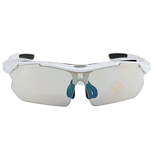 Yiph-Sunglass Sonnenbrillen Mode Heiße Sonnenbrille Männer Outdoor Fahren Radfahren UV400 Hochwertige Brillen Männlich Oculos De Sol Masculino (Color : White)