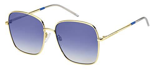 Tommy Hilfiger Damen Th 1648/S Sonnenbrille, Mehrfarbig (Gold Blue), 58