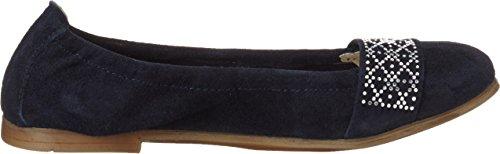 Lepi 4383lel, chaussons d'intérieur fille Blau (art.4383 C.01 Blu)