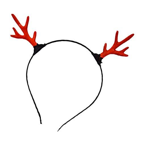 YOUNICER Geweih LED Glow Haarbänder LED Leuchten Blinkendes Stirnband Glow In The Dark LED Kostüm Stirnband LED Blinkendes Haarband für Nachtclubs Event Favors Raves Concert Party Halloween
