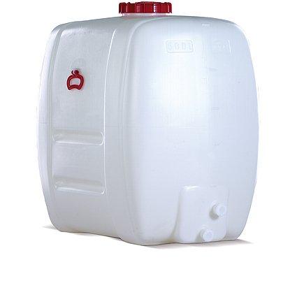 Kunststoff-Fass oval aus PE 100 L inkl. Auslaufhahn NW 15