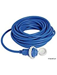 Osculati 14.334.55 - Spina + cavo 15 m blu 16 A (Insulated cap + cable 15m)