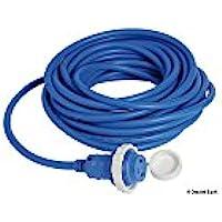 Osculati 14.334.55 - Spina + cavo 15 m blu 16 A (Insulated cap + cable 15m)