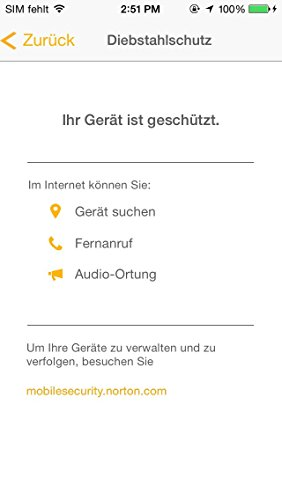 Norton Security mit Backup - 10 Geräte (PC, Mac, Android, iOS) (Product Key Card) - 8