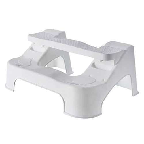 WC de bain Tabourets Pouf de toilette réglable en plastique épais Tabouret de salle de bains antidérapant Toilette Enfant femme enceinte Augmenter le pied de page