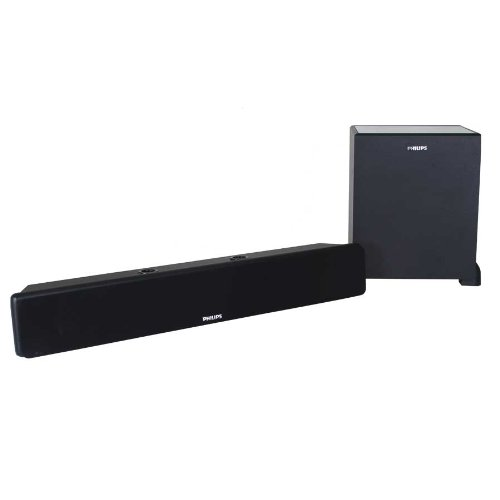 Philips Heartbeat SPA-3000U/94 5.1 Channel Multimedia Speaker System (Black)