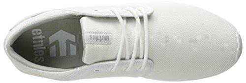 Etnies  SCOUT, Chaussures de Skateboard homme Blanc - Weiß (WHITE/GUM/104)