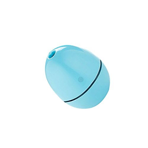 Generic 2W USB Portable Egg Shape Humidifier Air Aromatherapy Diffuser - blue