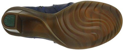 El Naturalista N566 Cares Wood / Duna, Bottes femme Bleu