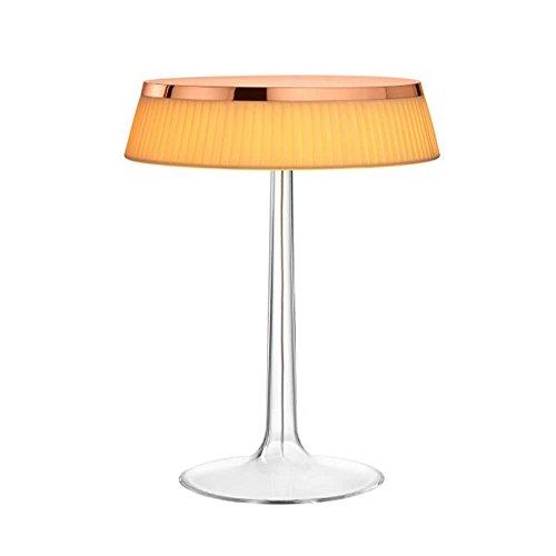Flos Bon Jour Lampe de table avec structure cuivre et abat-jour tissu 220 Volt