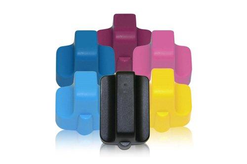 Preisvergleich Produktbild Inkadoo® Tinte passend für HP PhotoSmart D 7280 ersetzt HP 363XL , NO 363 XL , Nr 363C 8719 EE , C8719EEABB , Q7966EE - 1x Premium Drucker-Patrone Kompatibel -
