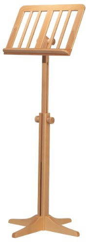 Koing and Meyer 11616 Wooden Music Stand, Beech