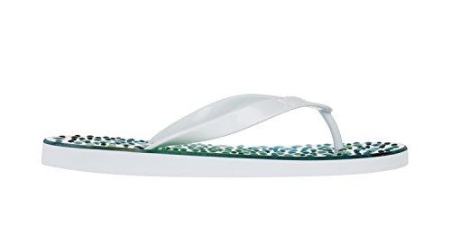 Flopz Tongs Pearl White Straps