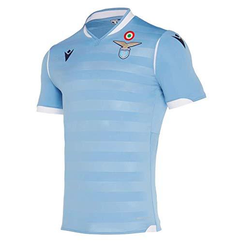 Macron S.S. Lazio Rom ® Original Fan-Artikel Authentic Trikot Home · (Offizielles SSL Italia Serie A Lizenzprodukt) · Saison 2019/2020, Größe M