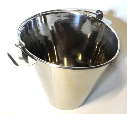 Melkeimer 10 Liter Edelstahl