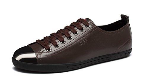 OPP , Chaussures de ville à lacets pour homme Marron