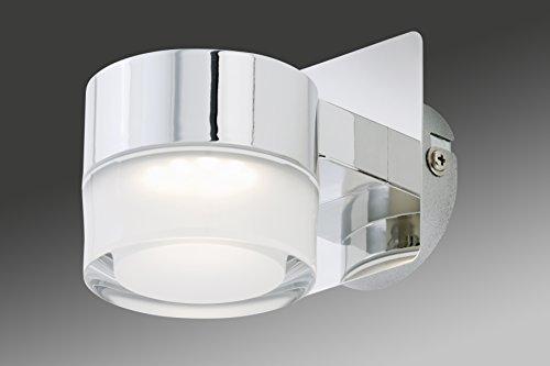 Lampada da bagno a led da parete led 5 w ip44 cromata prezzi e