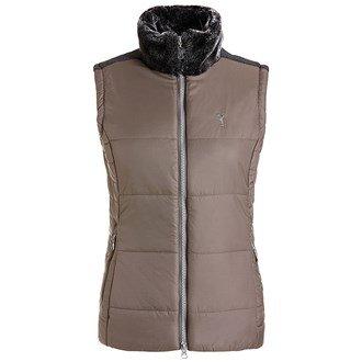 golfino-ladies-waistcoat-with-faux-fur-collar-ladies-light-khaki-8-ladies-light-khaki-8