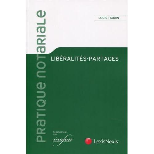 Liberalités-partages