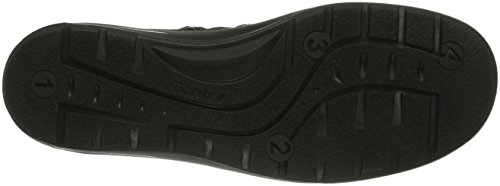 Ganter GRACY Weite G Damen Kurzschaft Stiefel Schwarz (schwarz 0100)