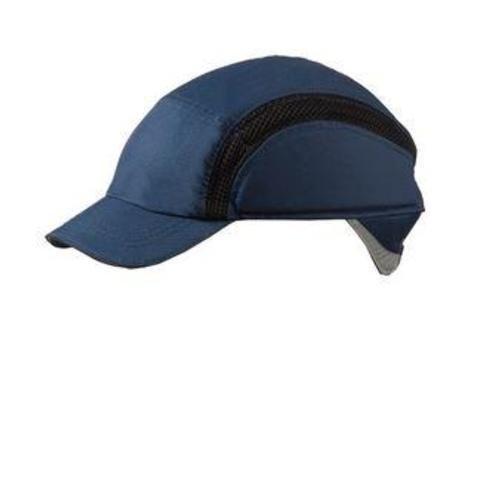 Centurion S38RP Airpro - Cappello da baseball di sicurezza, con visiera ridotta, blu navy (cad.)
