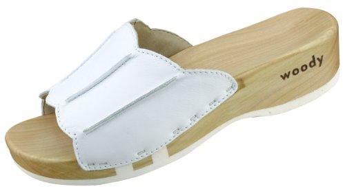 Woody Anna /21, Chaussures femme Blanc-TR-J4-20