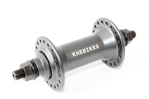 KHE BMX Nabe Vorne Vorderradnabe Alu CrMo S/B grau-eloxiert - U50
