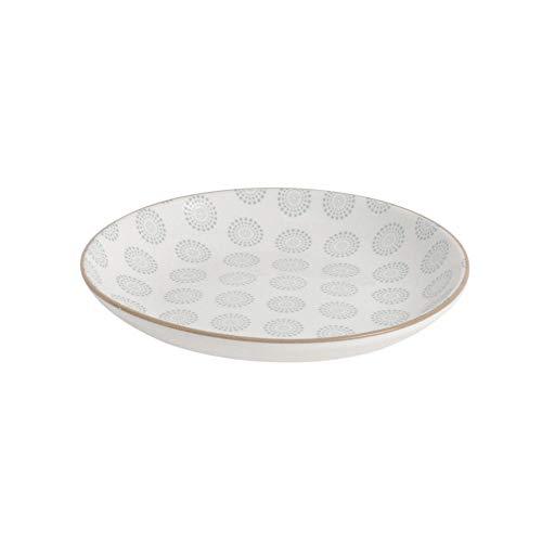 ProCook Porzellan | chinesischer Dessertteller | klein | 16,5 cm | asiatisches Design | Snack Teller | kleiner Teller | Blassblau (Chinesische Dessertteller)