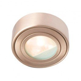 Robus Circular Cabinet Downlight (Brass)
