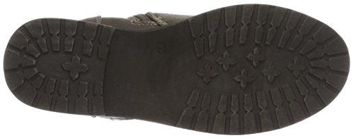 indigo by Clarks Stiefelette, Bottes courtes avec doublure chaude fille Gris - Grau (280 Stone)