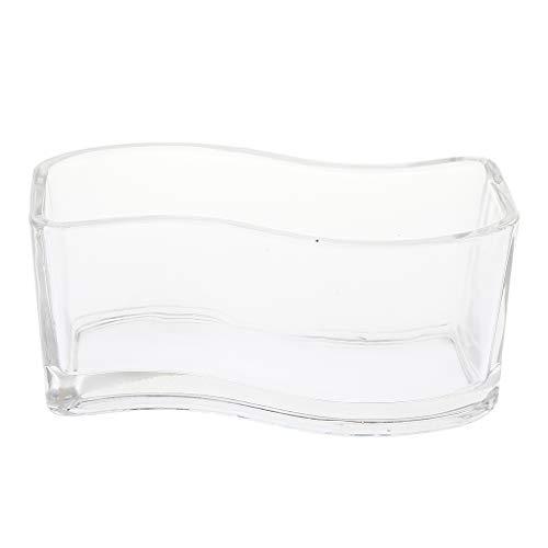 Non-brand sharplace betta cup jellyfish fish tank mini piccolo serbatoio di pesce in vetro - s