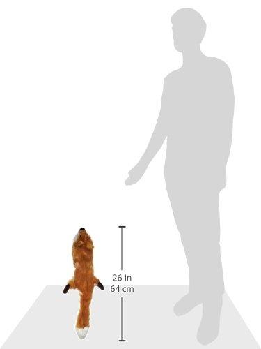 Skinneeez 470472 Hundespielzeug Fuchs, 61 cm, braun - 6