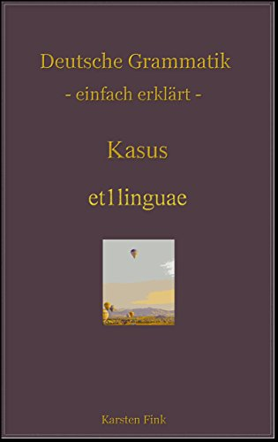 case: German grammar made easy