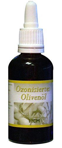 Ozonisiertes Olivenöl (NCM Öle ozonisiertes Olivenöl, 1er Pack( 1x 50 ml))