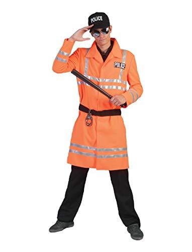 Funny Fashion Polizist Schutzmann Herrenkostüm Rettungsdienst Helfer Polizei Herren Kostüm